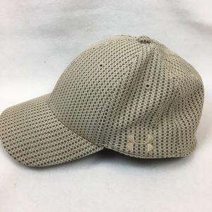 Under Armour Tan & Gray Print Baseball Hat L